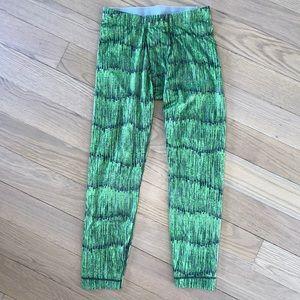 Patagonia Capilene Base Layer Green Pants